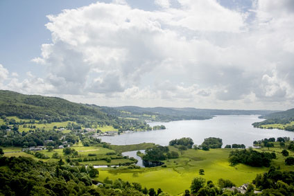 self-catering apartments near Lake Windermere Cumbria
