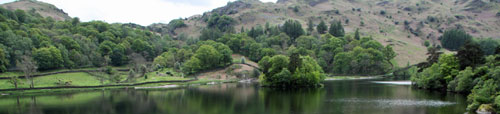 Grasmere water and Rydal water are good places for walks